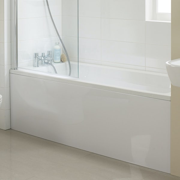 Ideal Standard Tempo single ended straight bath with front panel 1700 x 700