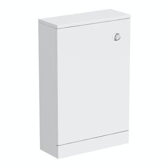 Clarity white back to wall toilet unit 500mm
