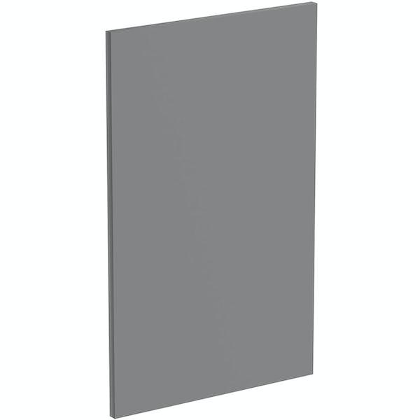 Schon Boston mid grey integrated dishwasher or fridge fascia