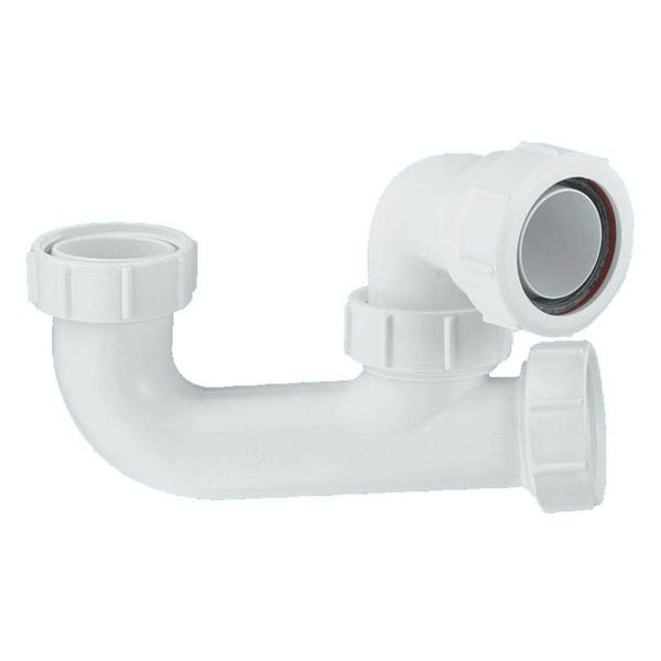 """McAlpine 50mm seal bath trap with 1½"""" multifit outlet and cleaning eye"""