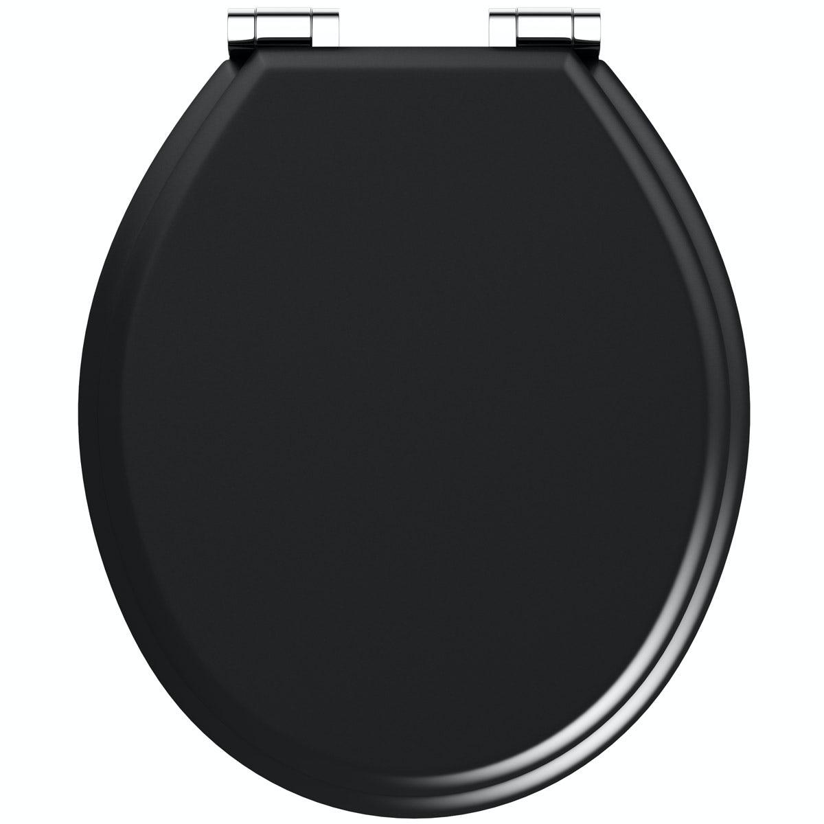 Universal Matte Black Soft Close Toilet Seat Victoriaplum Com