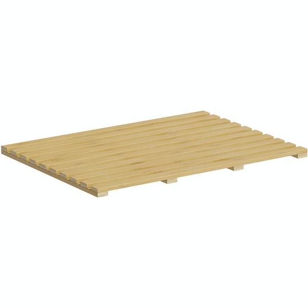 Accents bamboo rectangle mat