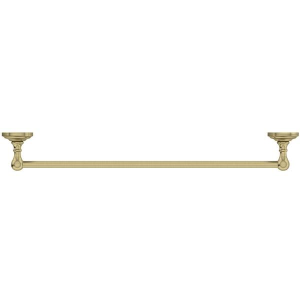The Bath Co. 1805 gold single towel rail