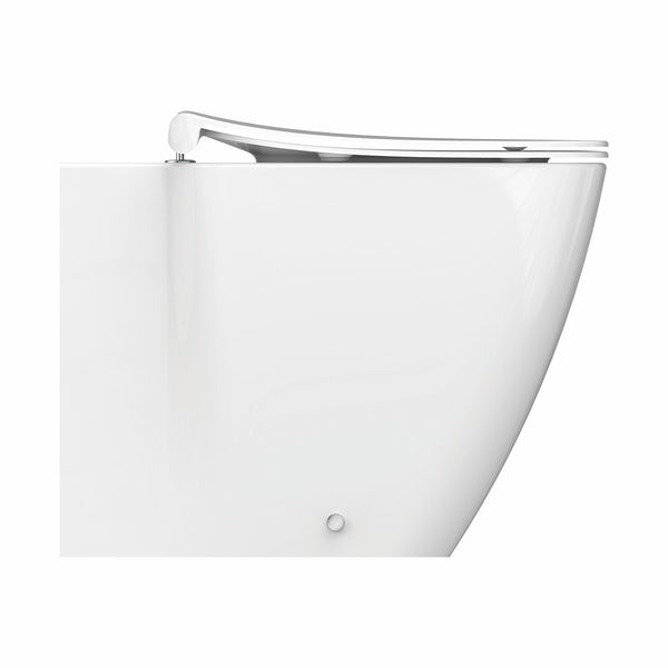 Ideal Standard Strada II back to wall toilet with soft close seat