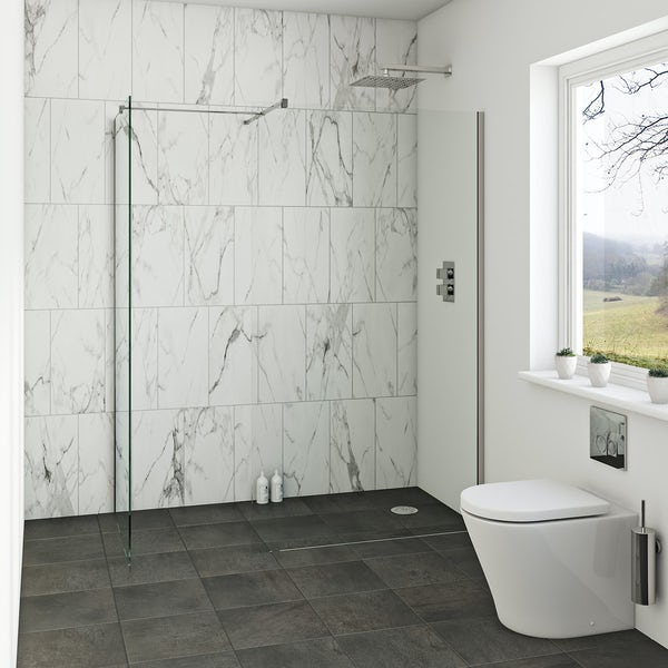 Orchard 8mm Wet Room Enclosure Glass Panel Packs