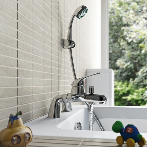 Clarity single lever bath shower mixer tap