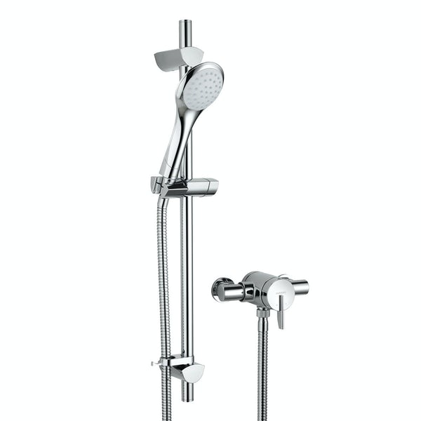 Bristan Sonique 2 sequential thermostatic shower valve with slider rail kit