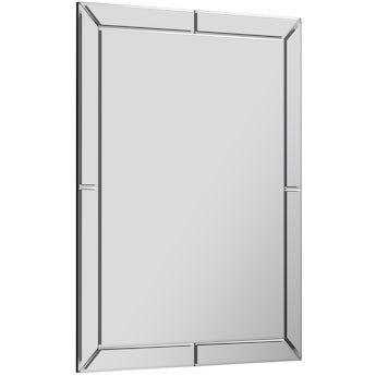 The Bath Co. Beaumont bathroom mirror 800 x 600mm