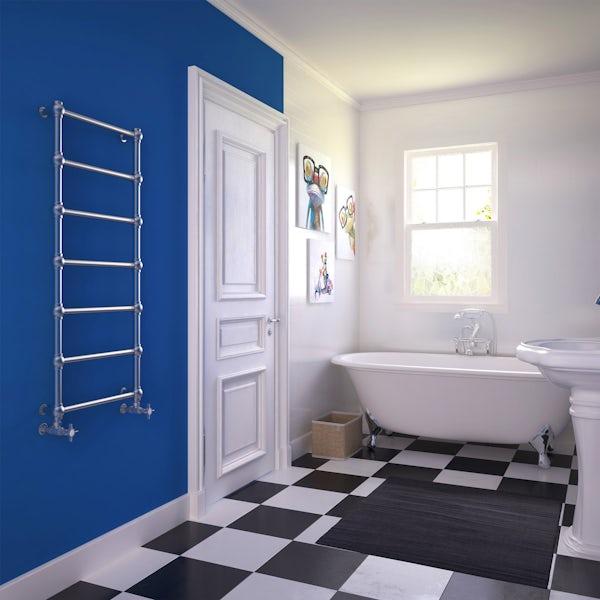 Terma Retro inox designer towel rail