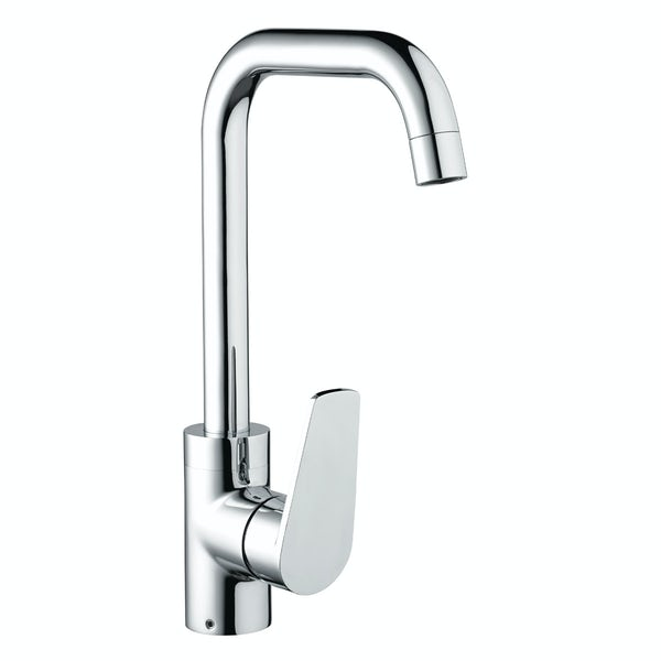 Bristan Blueberry easyfit single lever kitchen mixer tap