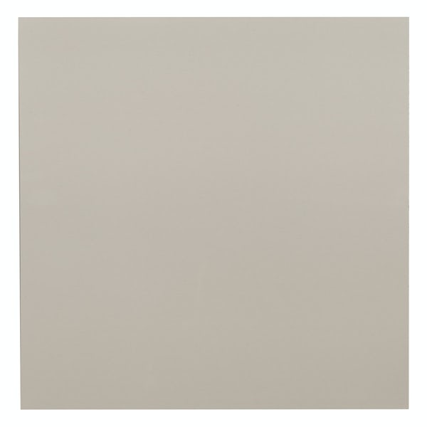 Cordova light grey flat gloss wall and floor tile 600mm x 600mm