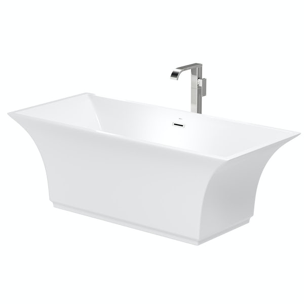Mode Austin freestanding bath & tap pack