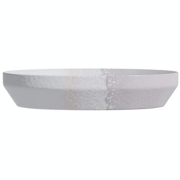 Accents grey ombre soap dish