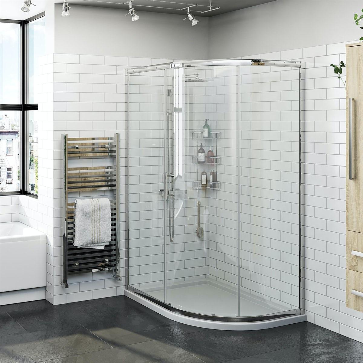 Delicieux Orchard 6mm One Door Offset Quadrant Shower Enclosure