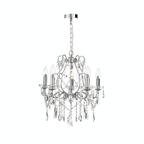 Marquis by Waterford Annalee 5 light bathroom chandelier
