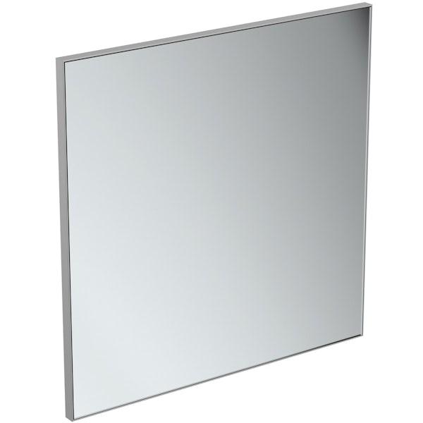 Ideal Standard framed mirror 700 x 700mm