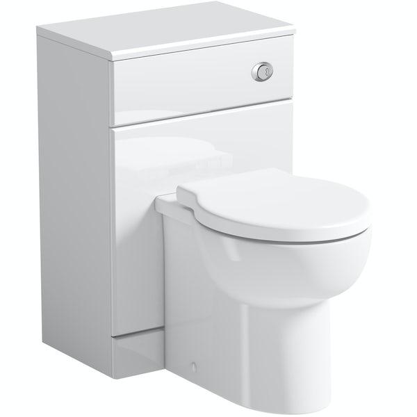Orchard Eden white back to wall toilet unit