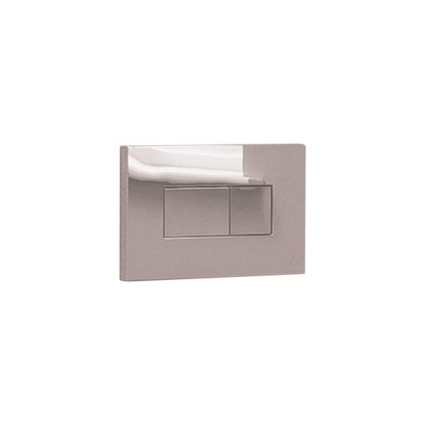 Ideal Standard Karisma satin silver flush plate