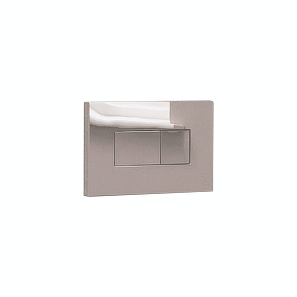 Ideal Standard Karisma satin silver flush plate