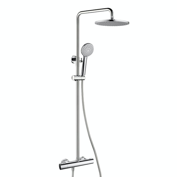 Orchard Low pressure thermostatic exposed mixer shower