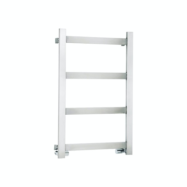 Reina Mina polished stainless steel designer towel rail