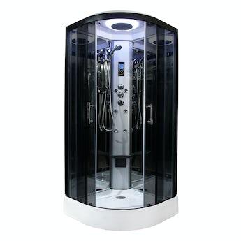 Insignia Premium quadrant hydro-massage shower cabin 800 x 800
