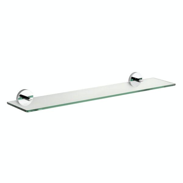 Croydex Pendle glass shelf
