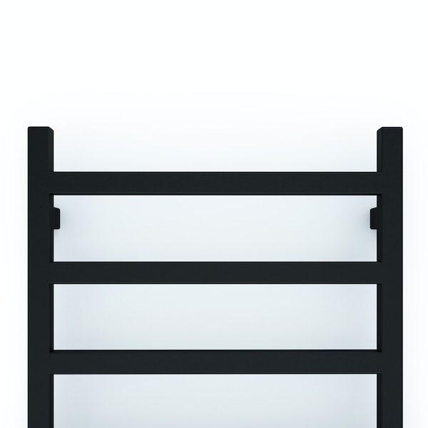 Terma Simple heban black designer towel rail