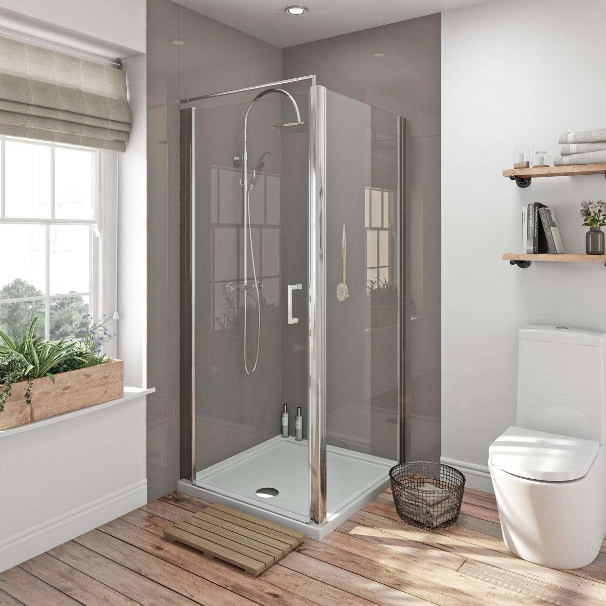 Zenolite Plus Fossil Acrylic Shower Wall Panel 2440 X 1000