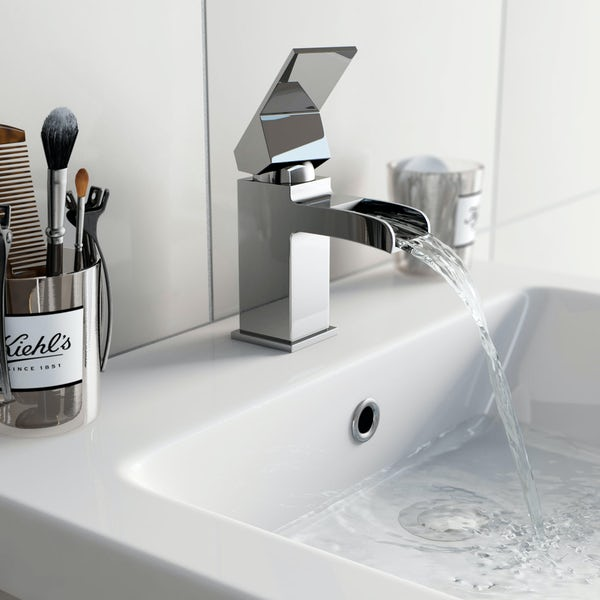 Wye Waterfall Basin Mixer Tap