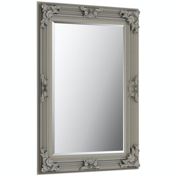 Innova Traditonal antique silver mirror