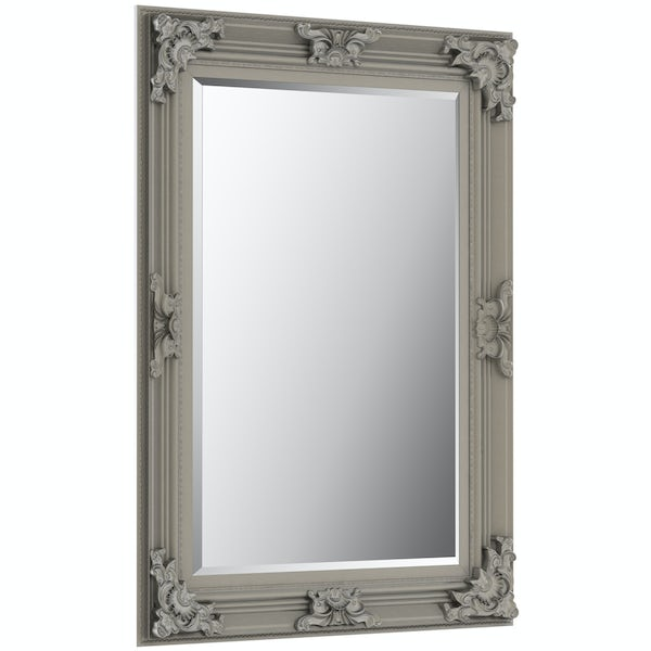 Innova Traditonal antique silver mirror