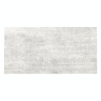 Shala light grey stone effect flat matt wall and floor tile 300mm x 600mm