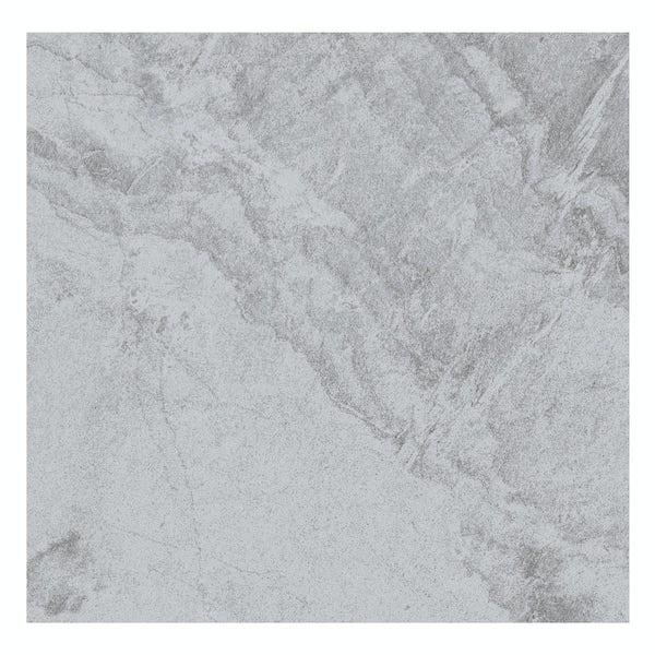 Laguna dark grey stone effect matt wall and floor tile 600mm x 600mm