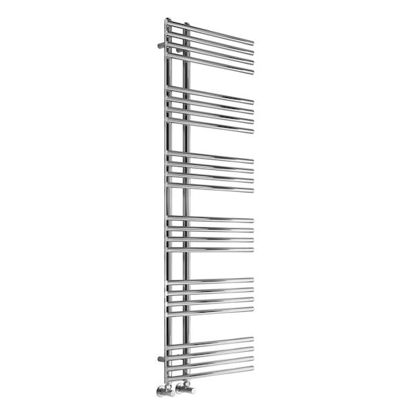 Reina Elisa chrome steel designer radiator