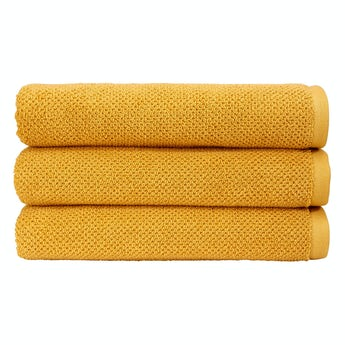 Christy Brixton saffron bath sheet