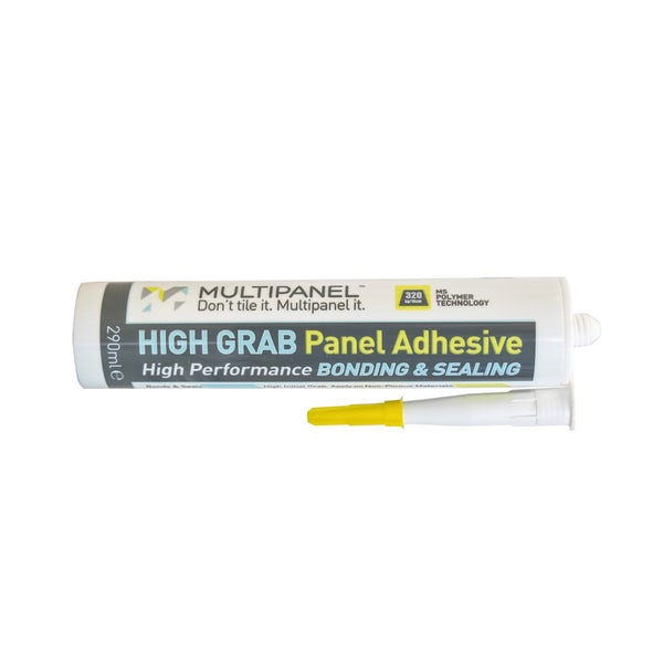Multipanel high grab adhesive and sealant