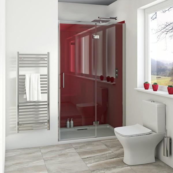 Zenolite plus fire acrylic shower wall panel 2070 x 1000