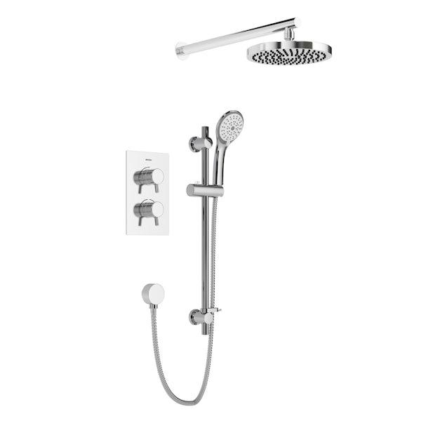 Bristan Prism concealed thermostatic shower set