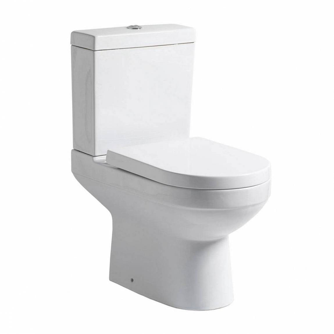 Balance Close Coupled Toilet With Soft Close Toilet Seat