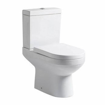 Orchard Balance close coupled toilet with soft close toilet seat