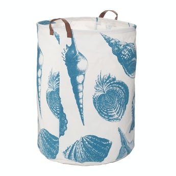 Accents Echo shell laundry hamper