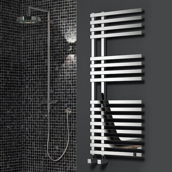 Reina Felino chrome steel designer radiator