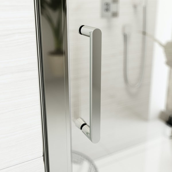 Cleaning Guide How To Clean Your Glass Shower Doors Properly: Mode Ellis Premium 8mm Easy Clean Sliding Shower Door