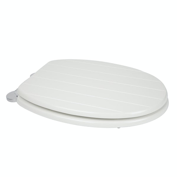 Croydex Hayward flexi fix toilet seat