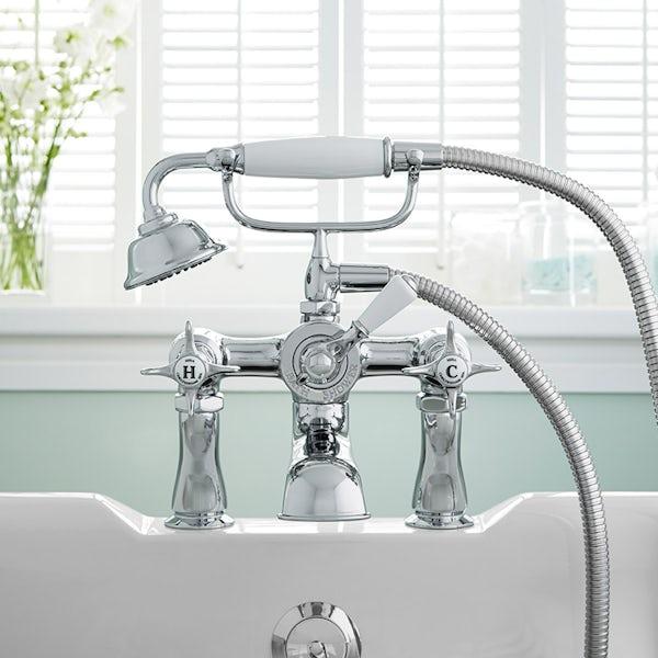 Mira Virtue basin and bath shower mixer tap pack