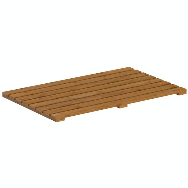 Orchard Bamboo rectangular slatted duck board