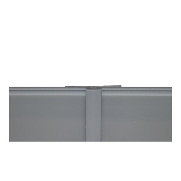 Zenolite plus matt ash colour matched straight joint 250mm