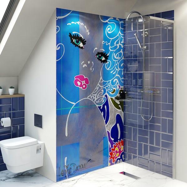 Louise Dear Coo..ee acrylic shower wall panel 2440 x 1220mm