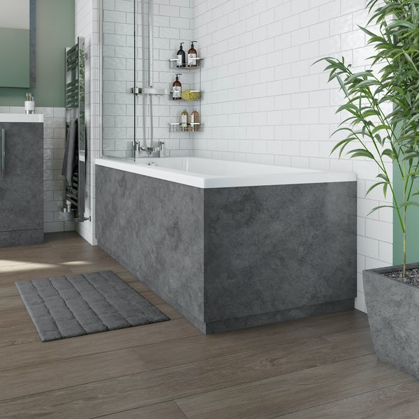 Orchard Kemp straight bath end panel 680mm